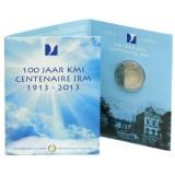 Belgia 2013 2 € Meteorologian instituutti 100 vuotta COINCARD