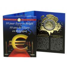 Belgia 2012 2 € Euro 10 vuotta COINCARD