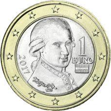 Itävalta 2017 1 € UNC