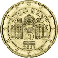 Itävalta 2017 20 c UNC