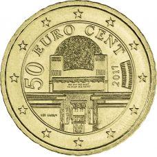 Itävalta 2017 50 c UNC