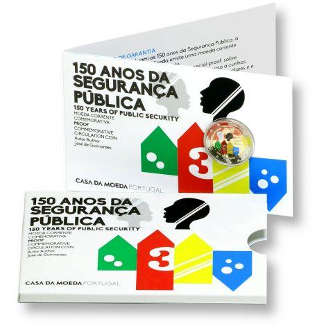 Portugali 2017 2 € Yleinen turvallisuus 150v PROOF