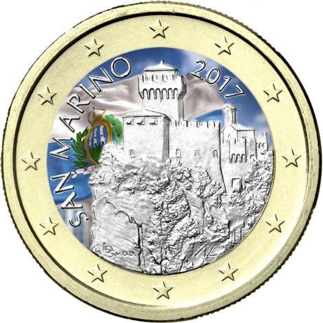 San Marino 2017 1 € VÄRITETTY