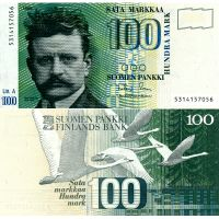 Suomi 1986 100 Markkaa Litt A P119 UNC