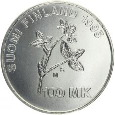Suomi 1995 100 Markkaa A.I.Virtanen 1895-1995 BU