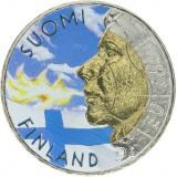 Suomi 1999 10 Markkaa Liekinpuhaltaja VÄRITETTY
