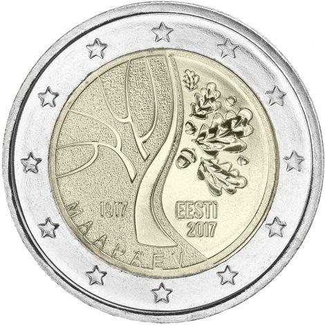 Viro 2017 2 € Viron tie itsenäistymiseen UNC