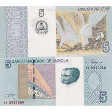 Angola 2012 5 Kwanzas UNC