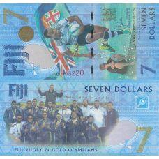 Fidži 2017 7 Dollars UNC