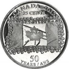 Kanada 2015 25 Cents UNC