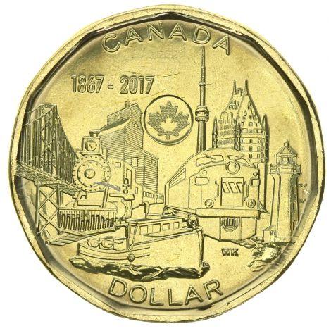 Kanada 2017 1 Dollar UNC
