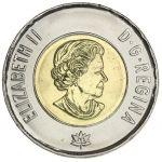 Kanada 2017 2 Dollars UNC