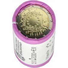 Malta 2015 2 € EU:n lippu 30v RULLA