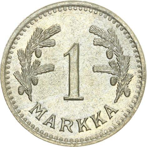Suomi 1940 1 Markka KL8