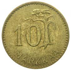 Suomi 1952 10 Markkaa kuntoluokka 6