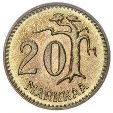 Suomi 1962 20 Markkaa KL6-7