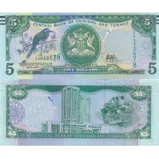 Trinidad ja Tobago 2017 5 Dollars P47a UNC