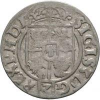 Puola Sigismund III 1/24 Taler 1622 Bydgoskan vaakuna HOPEA