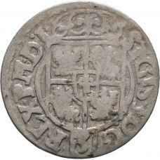 Puola Sigismund III 1/24 Taler 1620 Bydgoskan vaakuna HOPEA
