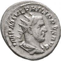 Rooman valtakunta 244-249 Denar #1 HOPEA