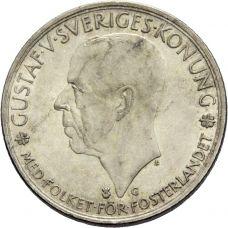 Ruotsi 1935 5 Kruunua 500v Ruotsin Eduskunta HOPEA VG