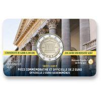 Belgia 2017 2 € Gentin yliopisto 200 vuotta, Ranska COINCARD