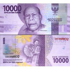 Indonesia 2016 10 000 Rupiah UNC