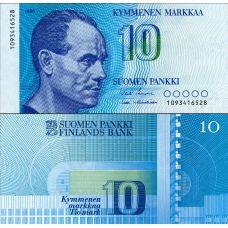 Suomi 1986 10 Markkaa P113a AUNC