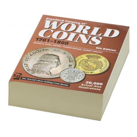 World Coins 1701-1800 5th edition Luettelo