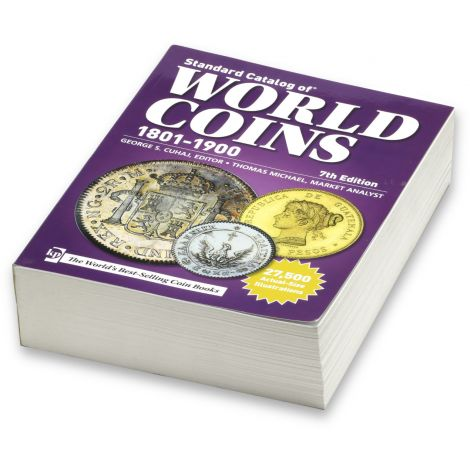World Coins 1801-1900 7th Edition Luettelo