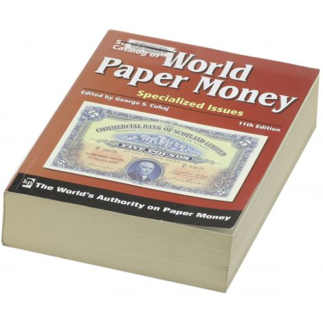 World Paper Money 1600- Specialized Issues 11th Edition Luettelo KÄYTETTY