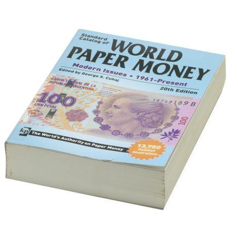 World Paper Money 1961-Present 20th Edition Luettelo KÄYTETTY