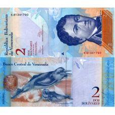 Venezuela 2012 2 Bolivares P88d UNC