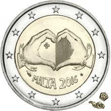 Malta 2016 2 € Rakkaus MdP UNC
