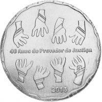 Portugali 2015 2,5 € Provedor de Justica UNC