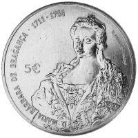 Portugali 2017 5 € Maria Barbara UNC