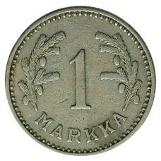 Suomi 1928 1 Markka KL4