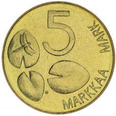 Suomi 1992 5 Markkaa UNC