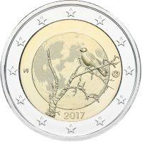Suomi 2017 2 € Suomalainen luonto UNC