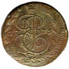 Venäjä 1775 5 kopeekkaa