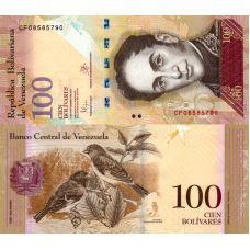 Venezuela 2015 100 Bolivares P93 UNC