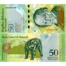 Venezuela 2015 50 Bolivares P92 UNC