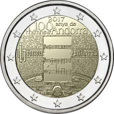 Andorra 2017 2 € Hymnin 100-vuotisjuhla BU