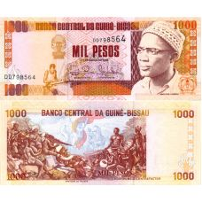 Guinea-Bissau 1993 1000 Pesos P13b UNC