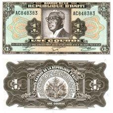 Haiti 1979 1 Gourde P239 UNC
