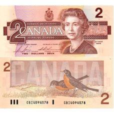 Kanada 1986 2 Dollar P94c UNC
