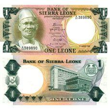 Sierra Leone 1984 1 Leone P5e UNC