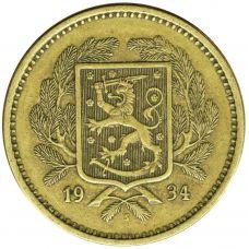 Suomi 1934 20 Markkaa KL6-7
