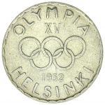 Suomi 1952 500 Markkaa Helsingin Olympialaiset KL7