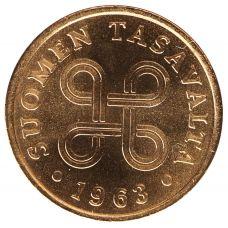 Suomi 1963 1 Penni KL9